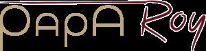 Papa Roy Logo auf weißem Hintergrund
